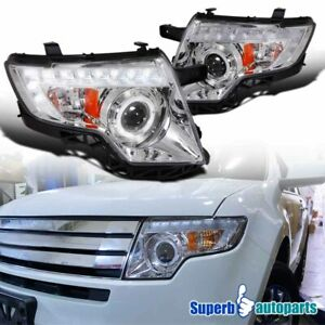 image is loading for-2007-2010-ford-edge-projector-clear-headlights-