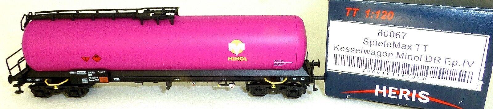 Minol Dr Wagon-citernes ep IV HERIS 80067 TT 1 120 emballage d'origine HL1 µ
