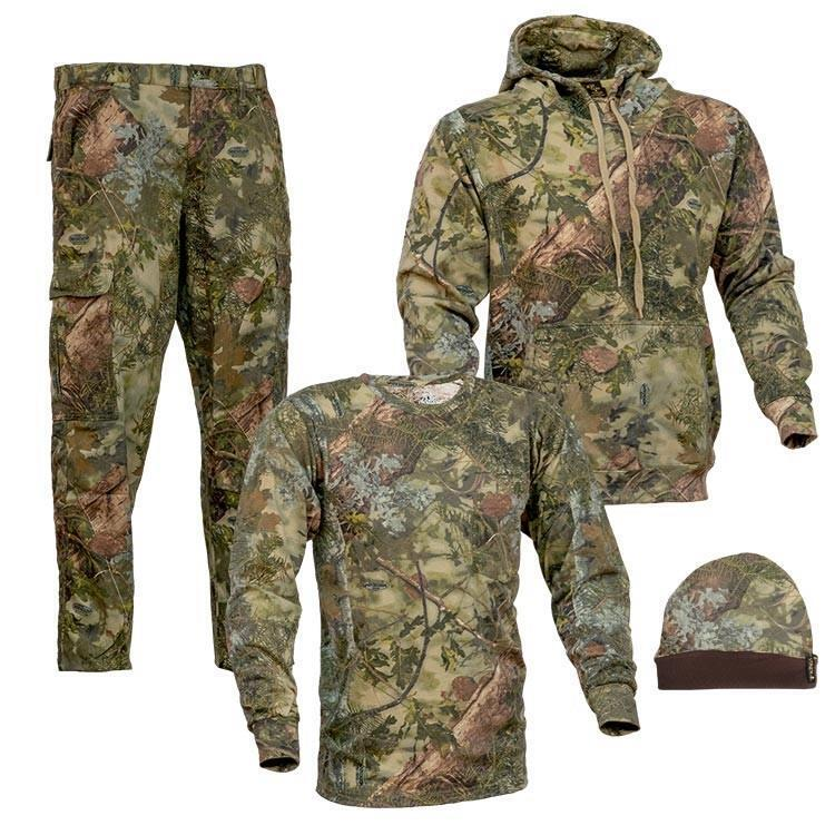 4 pc Kings Camo Mountain Shadow Classic Bundle Pants Hoodie Shirt Beanie Lot