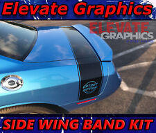 For Dodge Challenger Side Wing Band Graphics Vinyl Stripes Decals Stickers 15 21