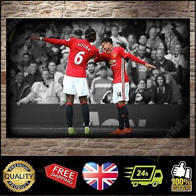 Paul Pogba Print Photo Print Poster Picture Football Manchester Man United