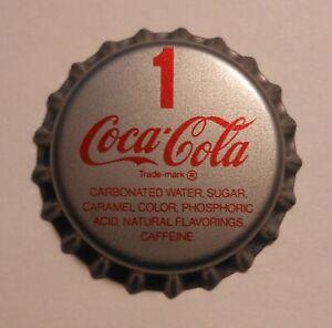 """Vintage Coca Cola """"#1""""..plastic..unused..Soda Bottle Cap"""