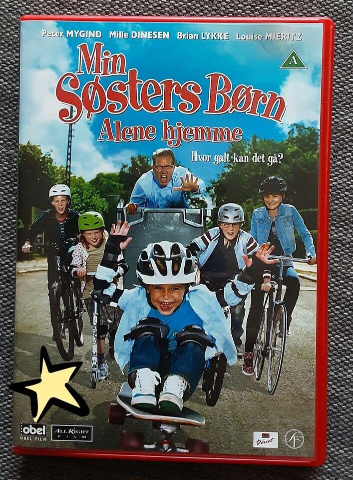 Min søsters Børn - Alene Hjemme , DVD, familiefilm