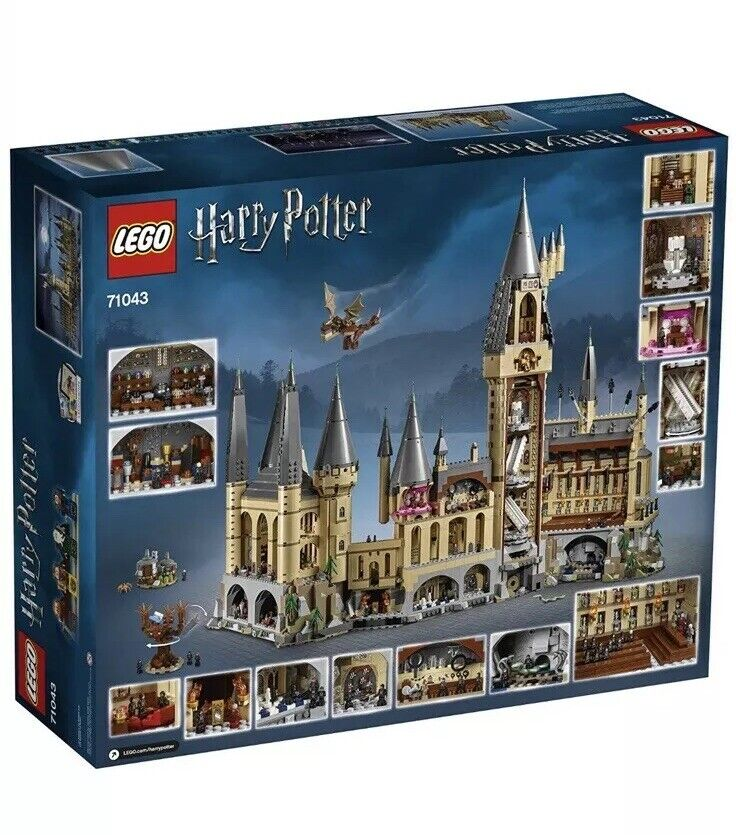 nouveau LEGO Harry Potter Hogwarts Castle  71043 6020  Pieces Sealed Shipping Box  abordable