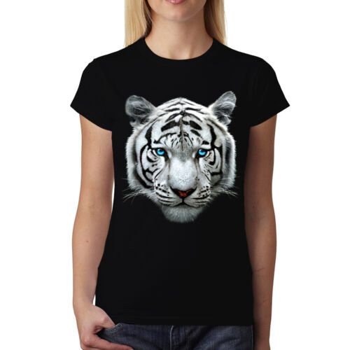 White Tiger Bengal Womens T-shirt XS-3XL