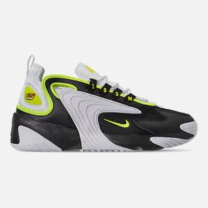 Dettagli su AO0269 004 Nike Zoom 2K CASUAL SCARPE NEROVOLT BIANCO TG 8 13 Nuovo con Scatola mostra il titolo originale