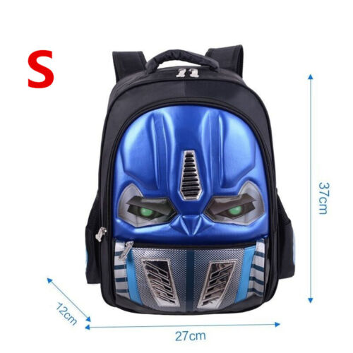 UK Personalised School Bag Transformers Children Multifunction Backpack Rucksack