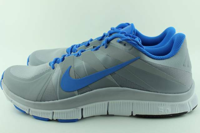 Nike Free Trainer 5.0 Grey Men Size 8.0 New Training Comfort Rare
