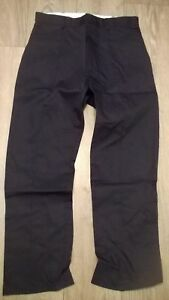 Mens-Tough-Hardwearing-Trousers-Navy-Blue-Work-TRADERS-Warehouse-New-tr277