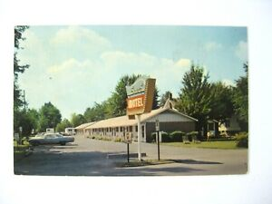Geneva-on-the-Lake-Ohio-Postcard-Welker-039-s-Surf-Motel-Vintage-Postcard