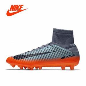 3d52fe7485fe UK Nike Men Boys Mercurial Superfly V CR7 FG Men Boys socks Football ...