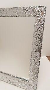 Silver-Glitter-Freestanding-Dressing-Table-Mirror