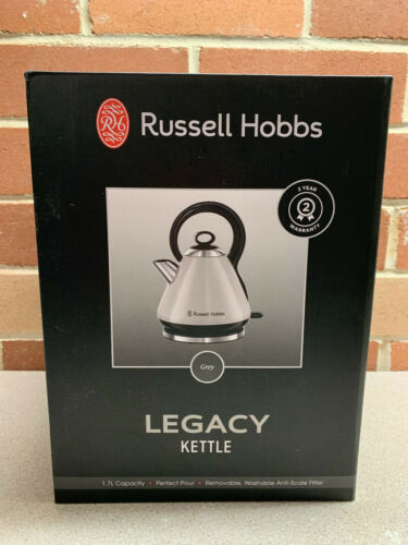 Russell Hobbs Legacy Kettle Grey BRAND NEW