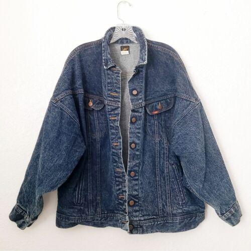 Vintage Lee Men's Medium Oversized Denim Jean Dist
