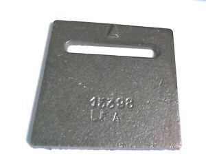 P0015398 Plaque volet 15398 pour poele à bois DEVILLE