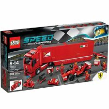 Lego 75913 Speed Champions F14 & Scuderia Ferrari Truck