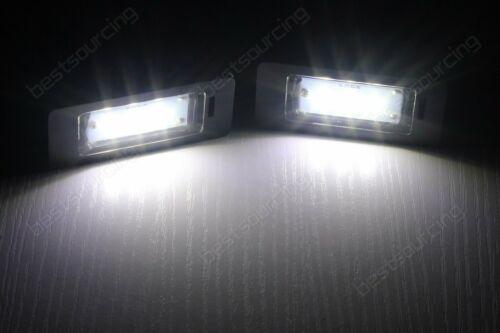 AUDI TT Q5 A1 A3 A4 S4 B8 A5 S5 A6 A7 Canbus LED Luz de Placa de número de licencia