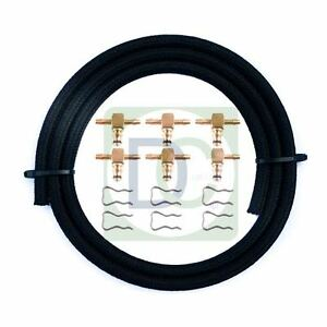 BMW-325-D-Brass-Leak-Off-Connector-Kit-Common-Rail-Diesel-Injector-6-Cylinder