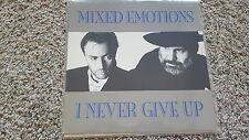 Mixed Emotions - I never give up 12'' Disco Vinyl/ Drafi Deutscher