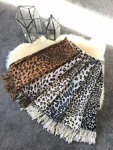 Ladies-Women-Fashion-Leopard-Print-Scarf-Scarves-Shawl-Wrap-Brand-New-More-Color