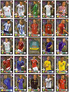 Carretera de edición limitada para la Copa del Mundo 2018 Panini Adrenalyn tarjeta//s