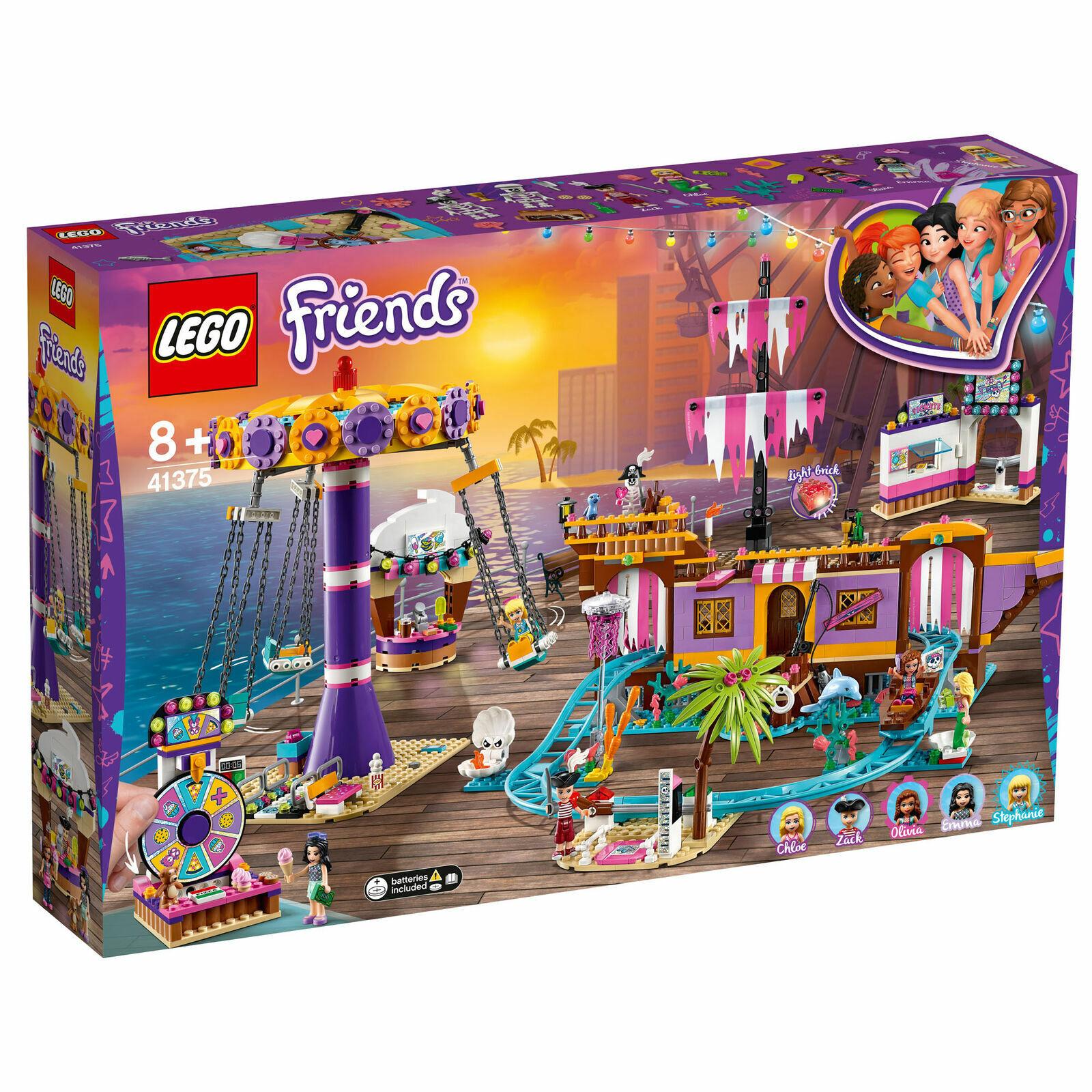 LEGO ® Friends 41375-Parc d'attractions de Heartlake  City - 1.251 Pièces Neuf & neuf dans sa boîte  derniers styles