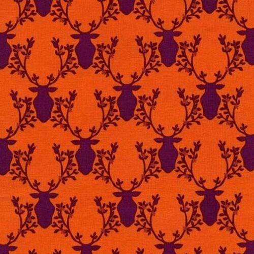 Michael Miller Trophy Orange Rustique FQ Half Meter Sew FREEPOST Sew Quilt