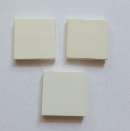 Lego 3068 Kachel Fliese Platte Systemstein 2x2 Glatt 3 Stück Weiß 29A
