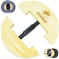 Premium Hat Cap Stretcher Heavy Duty One Size Fits All Solid Wood 6.5-9.5