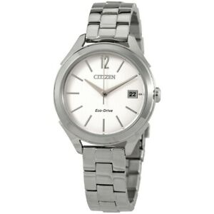 Women's Citizen LTR Stainless Steel 34mm Watch FE6140-54A New with Tags