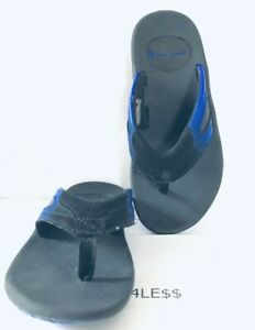 Blue Sport Thong Sandals Shoes-size