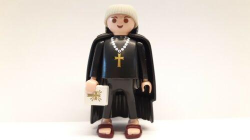 Playmobil 3627 6464 Mönch Monk Kirche Kloster Grundfigur top RAR mit Bible