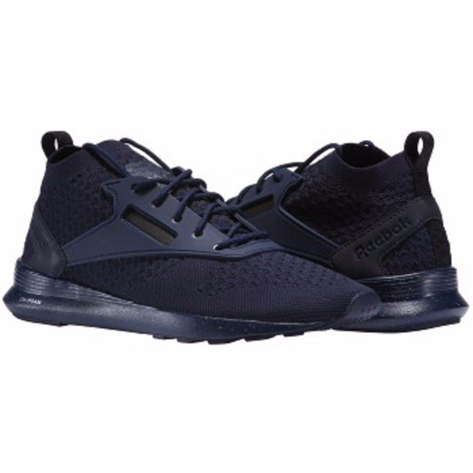 Reebok ZOKU Runner Ultra De Punto Hombre Zapatillas Zapatos Correr BS9115 Azul Marino