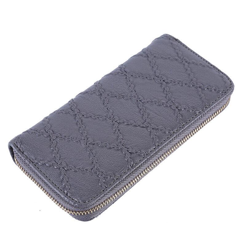 Multi-color Phone Holder Women Long Wallet Card Phone Clutch Casual Handbag PF