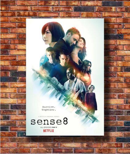 T2259 20x30 24x36 Silk Poster Sense 8 Season 2 TV Series 2017 USA Show Art Print