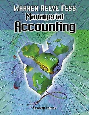 Managerial Accounting by Warren, Carl S. -ExLibrary