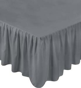 Bed-Ruffle-Skirt-Brushed-Microfiber-Bed-Wrap-Platform-16-034-Drop-Utopia-Bedding