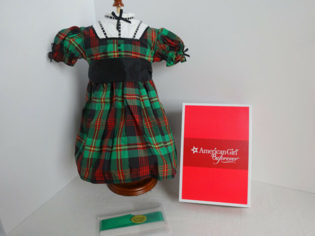 Ribbon for your doll NEW IN BOX American Girl Beforever Addy's Christmas Dress
