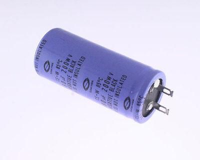 8x 680uF 200V Radial Snap In Mount Electrolytic Capacitor DC 680mfd 200VDC 85C