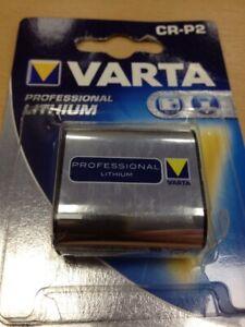 Varta-CR-P2-Batterie-Lithium-6-Volt-Professional-Fotonatterie-Neu-OP-6204