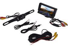 """4.3"""" TFT LCD Monitor + Car Backup Reverse Camera Rear View System Night Vision"""