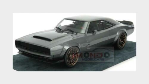 Dodge Supercharger 426 Hellephant 2020 Grey ENGUP 1:18 CHARGER004GY Mod 1000Hp
