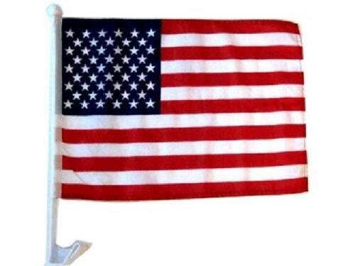 Mission Flags American Us Car Window Flags Clip On Perfect For Car Auto Sales