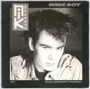 NIK-KERSHAW-LTD-1984-7-034-Single-with-BOOKLET-Wide-Boy