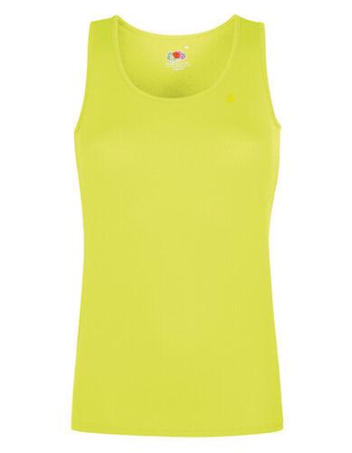 Damen Sport Performance Vest Top Shirt Quick Dry Gr.XS-XXL in 9 Farben F553