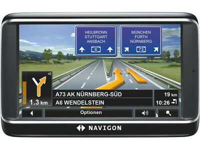 NAVIGON 42 EASY Europa Navigationsgerät  Kartenmaterial Q4//2020 NEUWERTIG!