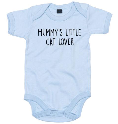 Cat Lover Body Costume personnalisé Mummy/'s Little Baby Grow nouveau-né Cadeau
