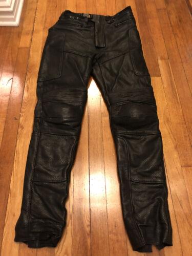 """Jonathan Logan """"Eddie"""" Men's Leather Motorcycle Pa"""