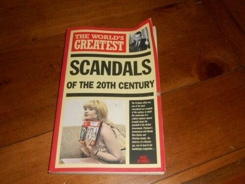1 of 1 - The World's Greatest Scandals of the 20th Century - Paperback Book from Hamlyn