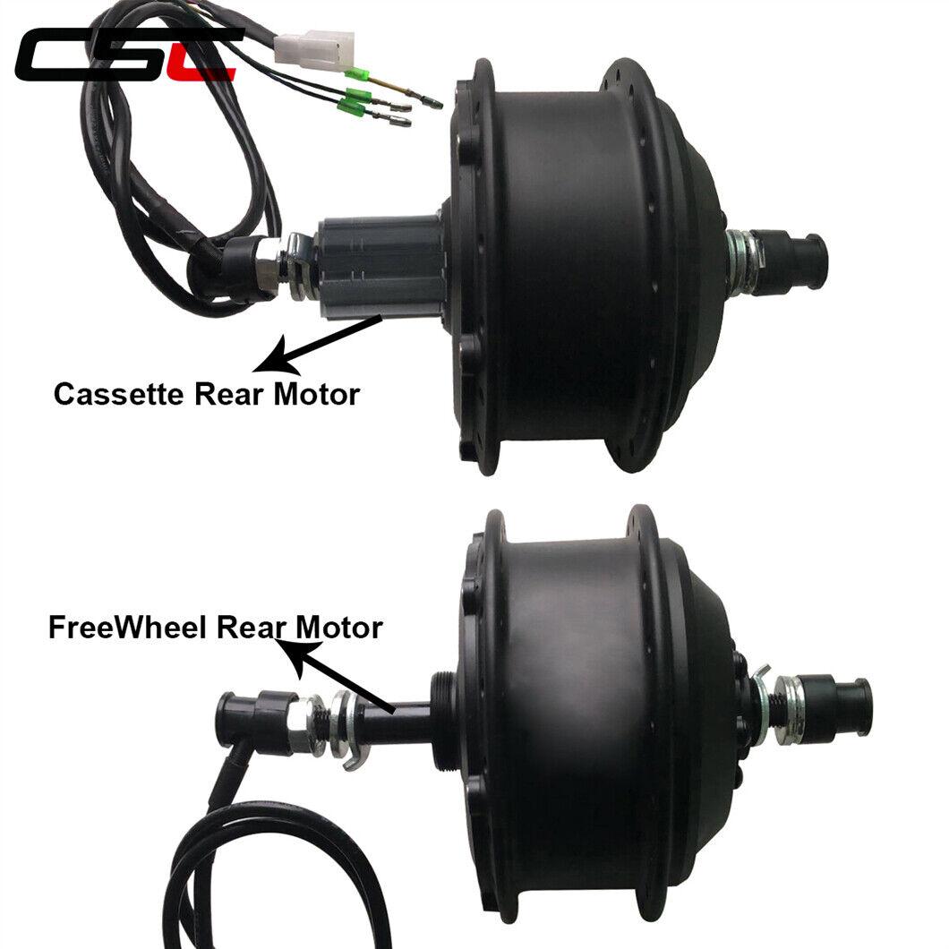 EBike 36V 500W Brushless Non-gear Hub Front Rear Motor For MTB Electric bike